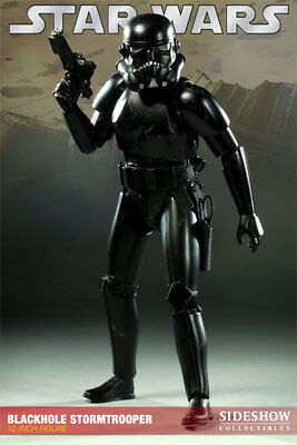 """Sideshow Collectibles Star Wars 12"""" Blackhole Stormtrooper"""