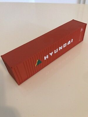 Walthers Container 40ft Hyundai 1:87