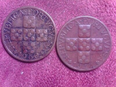 Portugal     20   Cents   1944  1960