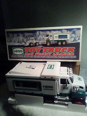 2008 Hess Toy Truck And Front Loader New!