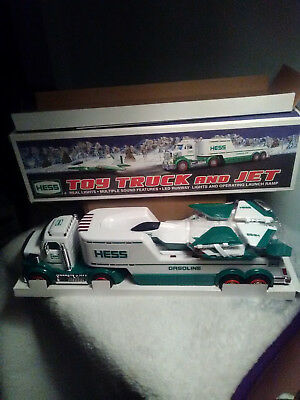 2010 Hess Toy Truck  And Jet  New!