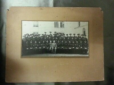 Original group photograph of Policemen location or force not known.