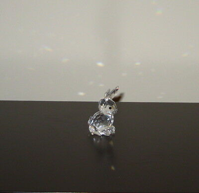 "Swarovski Crystal Figurine ""MOTHER RABBIT"" 7623 055 000"