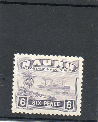 SG 34b NAURU MINT CAT £12