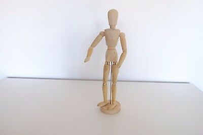 Artist wooden Manikin human movable mannequin sketching drawing model