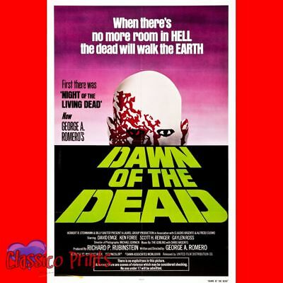 """Dawn Of The Dead  Poster - 24""""x16""""  (MP0918)"""