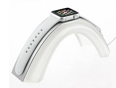 Apple Watch Stand INERTIA Bridge Aluminum Cover/Acrylic Platform iWatch 42 & 38