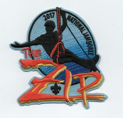 "2017 National Jamboree ""The Zip"" (Zip Lining) Promotion Patch, Mint!"