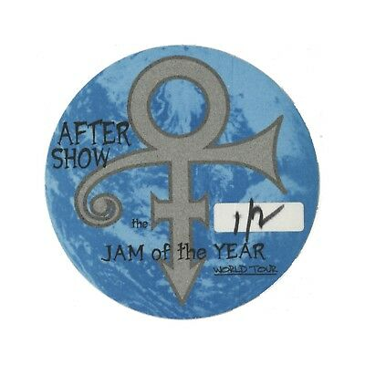 Prince authentic Aftershow 1997-1998 tour Backstage Pass
