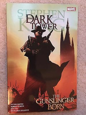 Stephen King The Dark Tower: The Gunslinger Born graphic Novel - Marvel