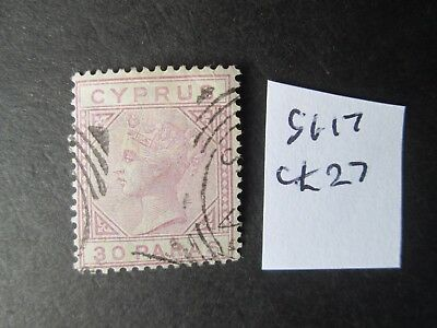 Cyprus 1882 SG17 nice used -Read main descriptions/scans.Lot 4/12.