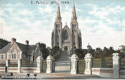 BR70282 st patrick cathedral armagh  northern ireland