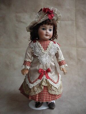 Beautiful vintage dress  for antique  French and German dolls 15-15,5""