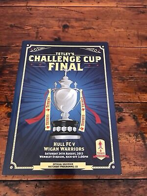 2013 Rugby League Challenge Cup Final Hull Fc V Wigan Warriors @ Wembley