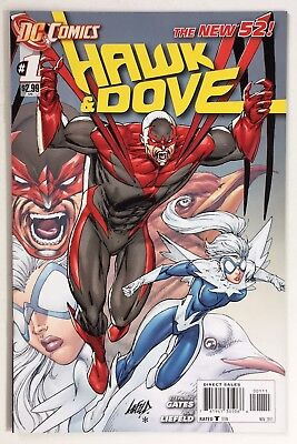 Hawk & Dove #1 (2011) New 52! Rob Liefeld