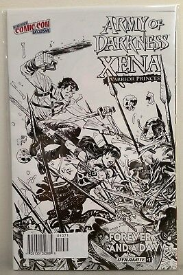 Army Of Darkness Xena Warrior Princess #1 Forever & A Day Nycc Exclusive Sketch