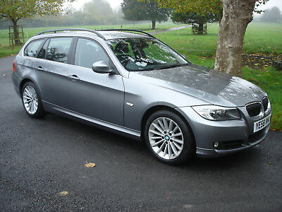 2009 BMW 325d SE Touring estate automatic, FSH, heated leather seats, bluetooth