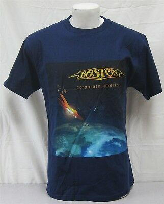 Boston Official Concert Shirt 2003 Corporate America Tour NEVER WORN Large