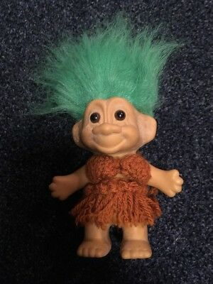 Russ Green Haired Troll Doll