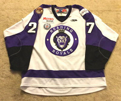 Vintage Sp Reading Royals Echl Game Issued Jersey
