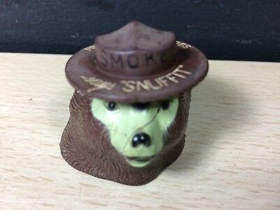 Vintage Smokey The Bear Snuffit Magnet Cigarette Snuffer Prevent Forest Fires