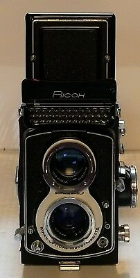 Ricohmatic 225 Twin Lens Reflex, TLR 6x6 Medium Format Camera, Extremely Rare