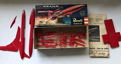 REVELL Northrop Snark SM-62 Intercontinental Guided Missile 1957 Mint No Decals