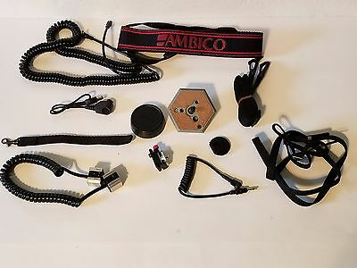35mm Camera Misc. Lot For Nikon - Canon (Cords Straps Misc. Parts)