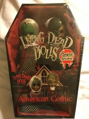 Living Dead Dolls American Gothic Spencer Exclusive.. Factory Sealed