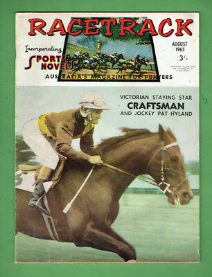 #bb.  Racetrack/ Sports Novels  Magazine,  August 1965