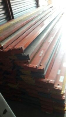 """Used Teardrop Pallet Rack Shelving Racking Sections scaffolding one beam 96"""""""