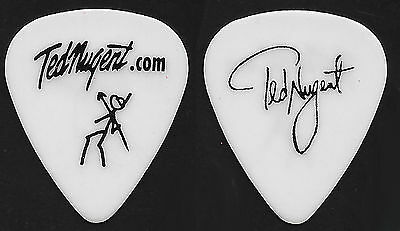 Ted Nugent--2000 Tour Spear Hunter Guitar Pick--Black & White! Donald Trump