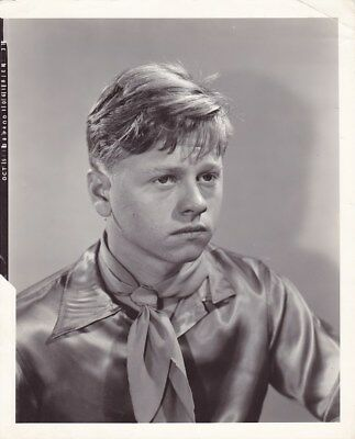 MICKEY ROONEY Costume Test Portrait Vintage 1938 OUT WEST WITH HARDY'S MGM Photo