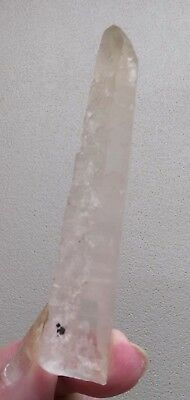 Stunning Rare Unique Ancient Natural Lemurian Seed Quartz Crystal Point Wand