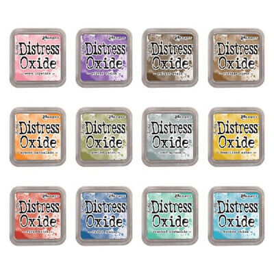 Ranger Tim Holtz Release 1 Distress Oxide Ink Pads Set