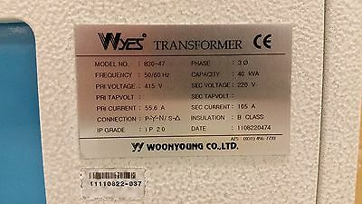 Transformer 415V to 220V in Industrial