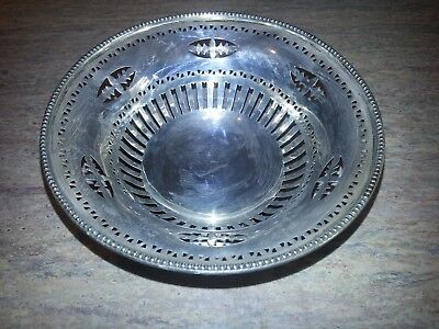 William Neale Stirling Silver Sweet Dish Chester 1905