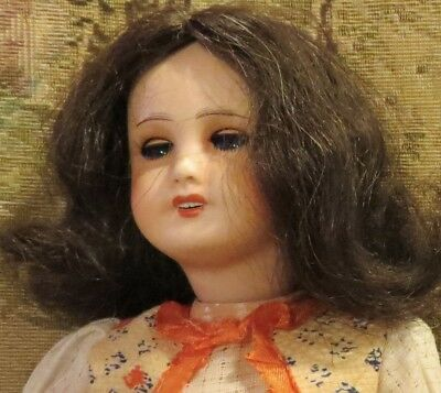 "Antique 12.5"" French Bisque Unis France 301 Doll all Original"