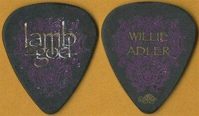 Lamb of God Willie Adler authentic 2007 Sacrament tour custom stage Guitar Pick
