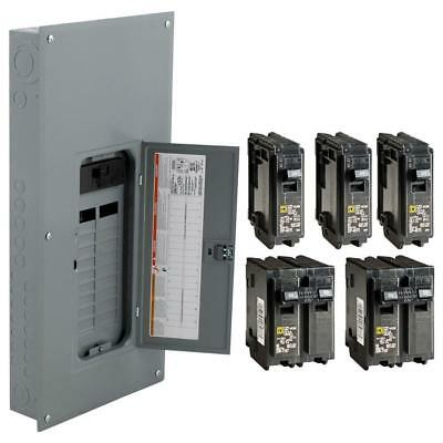 Square D 200-Amp 40-Circuit 20-Space Electric Main Breaker Load Center Panel Box