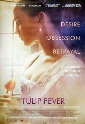 TULIP FEVER great original 27x40 D/S movie poster (s01-31)