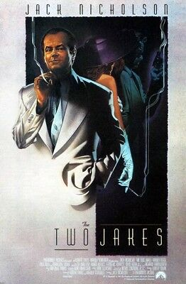 THE TWO JAKES great 27x40 rolled movie poster 1990 LAST ONE (s01-cb)