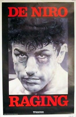 RAGING BULL great original 27x41 rolled movie poster 1980 (s01)