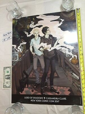 Lord of Shadows 18 x 24 Poster 2017 NYCC Cassandra Clare Shadowhunters