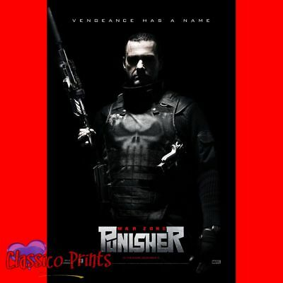 """The Punisher War Zone Photo Poster - 12""""x8""""  (MP4330)"""