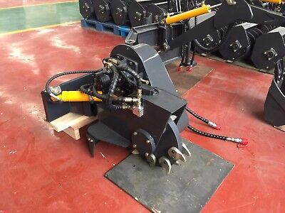 Stump Grinder Rotary axe swing type suits mini diggers and mini loaders
