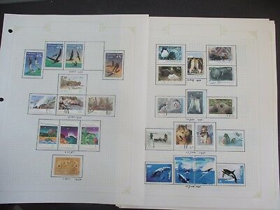ESTATE: AAT / Territories collection on pages excellent mix of issues  (3289)