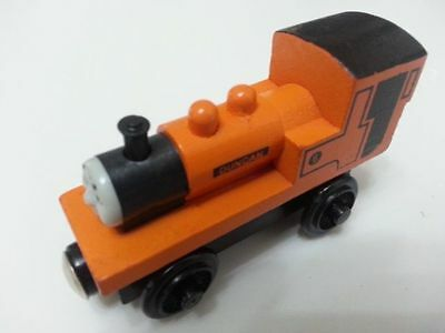 Thomas & Friends No.6 Duncan Magnetic Wooden Toy Train Loose New In Stock