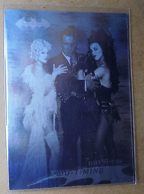 Batman Forever:1995-Movie- Fleer Ultra - Hologram Card [17 of 36]