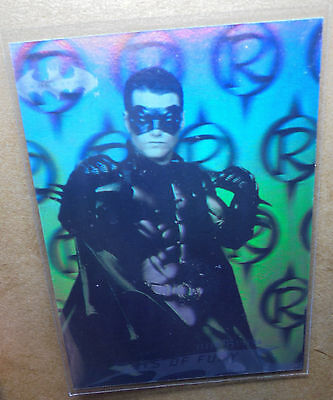 Batman Forever:1995-Movie- Fleer Ultra - Hologram Card [8 of 36]